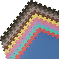 48 Square Ft We Sell Mats Foam Interlocking Floor Square Tiles from We Sell Mats