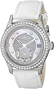 Armand Nicolet Women's 9155V-AN-P915BC8 M03 Classic Automatic Stainless-Steel with Diamonds Watch
