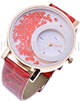 Kitcone Analogue Movable Beads Designer Braclet Jwellery Fashion stylish Womens ,girls & Ladies Wrist watches ...