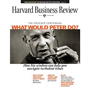Harvard Business Review, November 2009 | [Harvard Business Review]