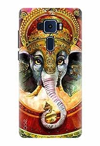 Noise Designer Printed Case / Cover for ASUS ZENFONE 3 ZE520KL 5.2 Inch screen size / Festivals & Occasions / Ganesha Design