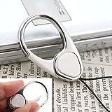 【HandLinker/ハンドリンカー】HandLinker EXTRA ハンドリンカーエクストラ◆カラビナリング携帯ストラップ(ホワイト)