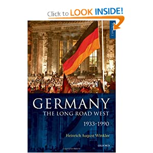 Germany: The Long Road West: Volume 2: 1933-1990
