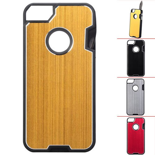 Multifunction Protective Back Case W/ Multi-Tool Knife Saw Scale Ruler For Iphone 5
