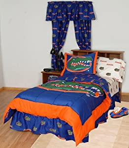 NCAA Bed in a Bag Set Size: King, NCAA Team: Florida Gators by College Covers