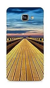 Amez designer printed 3d premium high quality back case cover for Samsung Galaxy A7 (2016 EDITION) (Seaside Promenade)
