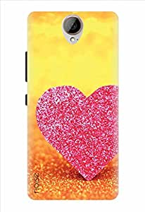Noise Printed Back Cover for HTC One E9 Plus