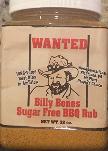 Billy Bones Sugar Free BBQ Rub