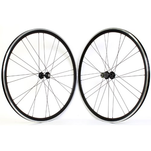 Wheel Master Mach1 Versus Wheel Set - 700c, 24H, 8/9-Speed, QR, All-Black