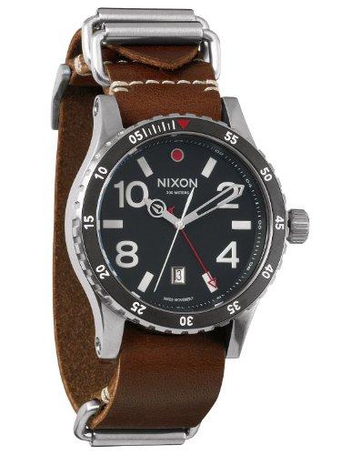 Nixon Men's Diplomat Watch One Size Black