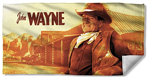 John Wayne - Old West Beach Towel 57 x 36in (Old West Merchandise compare prices)