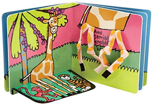 Jellycat My Giraffe Book front-1008254