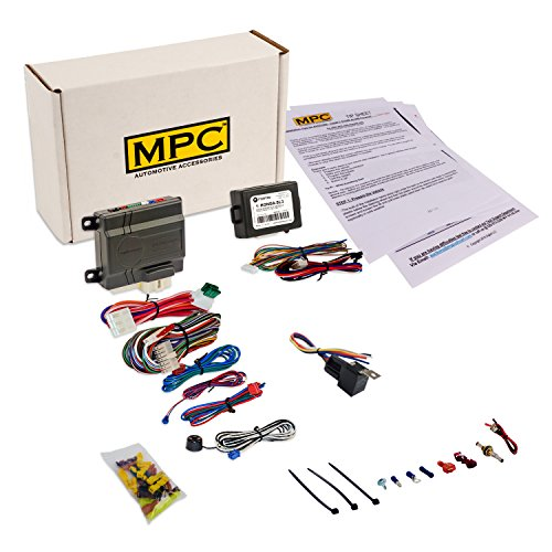 Complete Add On Remote Car Start Kit / Compatible with Honda and Acura Vehicles [1998 - 2015] / Excalibur Remote Starter with Honda SL3 Bypass Module - Includes Copyrighted Install Tip Sheet (Honda Bypass Module compare prices)