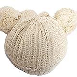 PromiseTrue Cute Unisex Baby Cap Knitting HatBeige