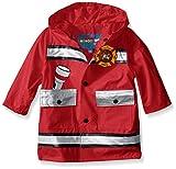 Wippette Baby Fireman Rainwear, Red, 18 Months