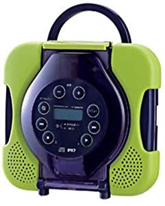 Waterproof CD Player CD Zabady Lime Green AV-J165 with Vocal Remover Function for Karaoke