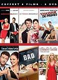 Comédies romantiques - Coffret 6 DVD  - Bad Teacher + Sexe entre amis + L'abominable vérité + Le Témoin amoureux + Comment savoir + Le chasseur de primes