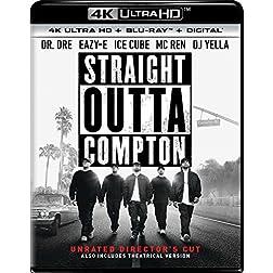 Straight Outta Compton [4K Ultra HD + Blu-ray]