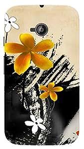TrilMil Printed Designer Mobile Case Back Cover For Motorola Moto E 2nd Gen E2