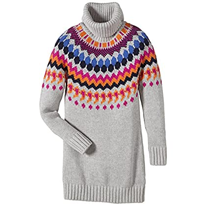 Tommy Hilfiger Mädchen Kleid FAIRISLE SWEATER DRESS L/S günstig online kaufen