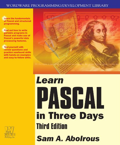 Learn Pascal in Three Days