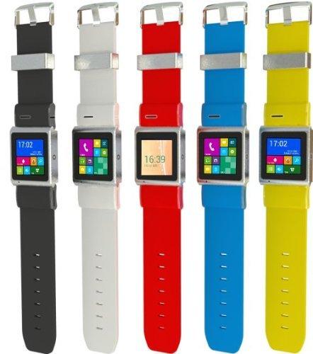 EC309 Smartwatch Phone Android 4.0 Watch phones 3G Watch Phone 5.0M Camera - Wifi - GPS (Black)