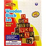 Stack 'n Build 30-Piece Wooden Block Set