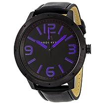 Brooklyn Watch Company De Kalb Black and Purple Dial Mens Watch 1950BBL
