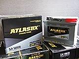 送料無料 アトラス 新品 AGMバッテリー SA56020 60AH ATLAS BX 高級車 欧州車 外車 専用バッテリー