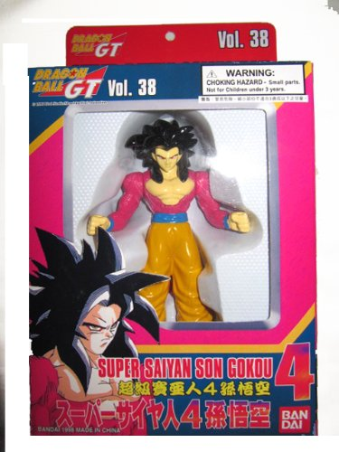 Dragonball GT Super Battle Collection Vol. 38 Super Saiyan 4 Son Gokou Goku Figure by Bandai