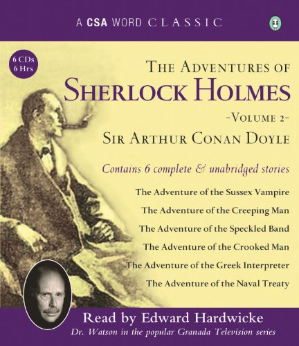 The Adventures of Sherlock Holmes, Volume 2 (A CSA Word Classic)