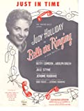 img - for Just in Time: Bells are Ringing, Dean Martin Judy Holliday book / textbook / text book