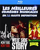 Les Meilleures comédies musicales en haute définition : New York, New York + West Side Story + Hair [coffret 3 Blu-ray]