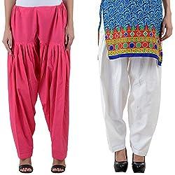 NumBrave Women's Noticeable Cotton Patiala Salwar