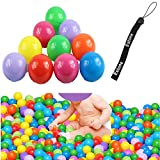 Estone 100pcs Colorful Ball Fun Ball Soft Plastic Ocean Ball Baby Kid Toy Swim Pit Toy
