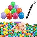 Estone 200pcs Colorful Ball Fun Ball Soft Plastic Ocean Ball Baby Kid Toy Swim Pit Toy
