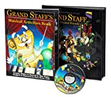 Grand Staff & His Musical Friends Complete Package (Includes: storybook, musical CD, sticker set, soft cover and hard cover)