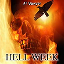 Hell Week: Seals vs. Zombies, Book 1 (       UNABRIDGED) by JT Sawyer Narrated by Benjamin G. Powell
