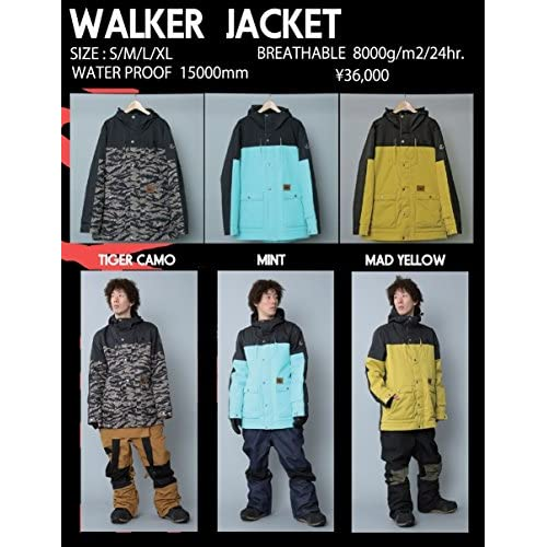 15-16 AA-HARDWEAR WALKER JACKET (Mサイズ  :MADYELLOW)
