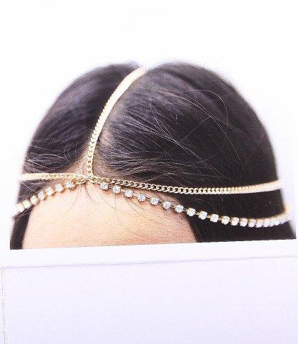 Fashion Jewelry ~ Hair Accessory ~ Goldtone Head