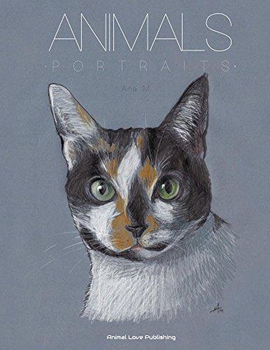 ANIMALS - Portraits: An Astonishing Portfolio of Pet Paintings (Bilingual Edition) (Protection Portfolio compare prices)