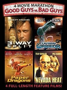 4 Movie Marathon: Good Guys vs. Bad Guys