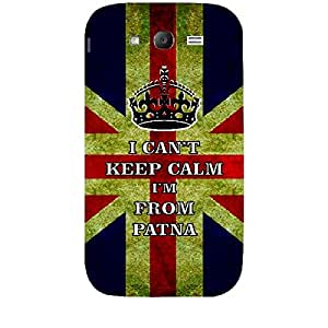 Skin4gadgets I CAN'T KEEP CALM I'm FROM PATNA - Colour - UK Flag Phone Skin for SAMSUNG GALAXY GRAND (I9082)