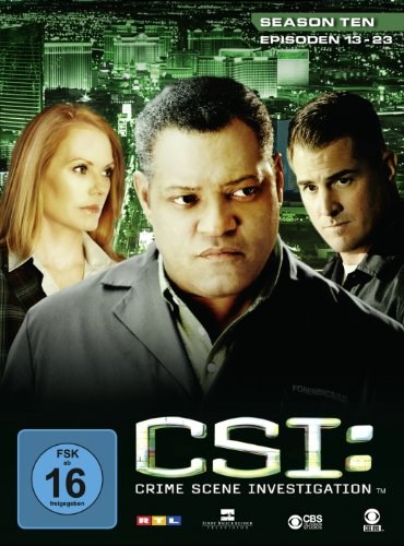 CSI: Crime Scene Investigation - Season 10.2 [3 DVDs]