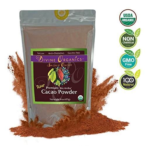 divine-organics-16oz-raw-cacao-powder-cocoa-powder-certified-organic-premium-rio-arriba-smoothies-ho