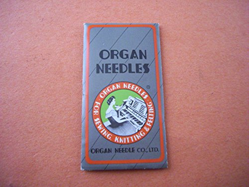 10 ORGAN Sewing Machine Needles JUKI DDL-8700 8700-7 555 Size 20,21,22,23,24 INDUSTRIAL Sewing Machine ROUND SMALL SHANK INDUSTRIAL Sewing Machine ROUND SMALL (20 (Metric Size 125)) (Antique Sewing Machine Belts compare prices)