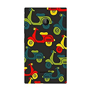 Garmor Designer Plastic Back Cover For Nokia Lumia 532