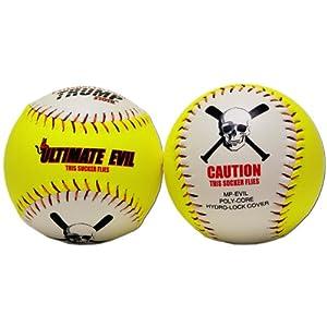 Buy 1 Dozen Ultimate Evil 12 Softballs 53 COR 500 Compression 12 Balls (MP-EVIL) HOME RUN... by Trump/Evil Sports