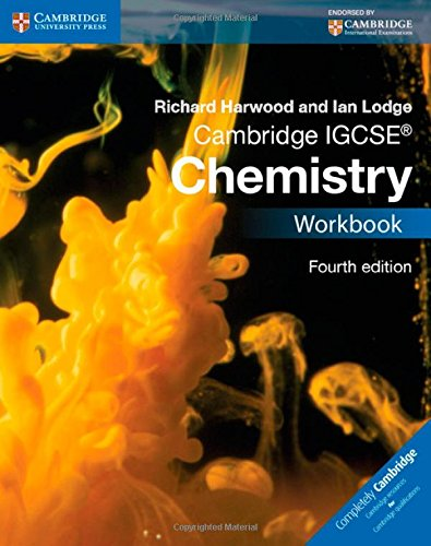 Cambridge IGCSE ® Chemistry Workbook (Cambridge International Examinations)