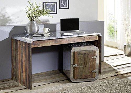 Bois de sheesham massif huilé massif meubles de bureau meubles en bois de palissandre massif sheesham strong pure grey#780